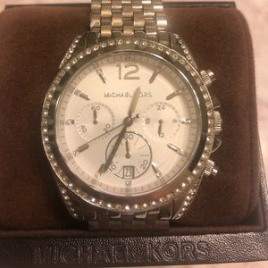Michael Kors silver women's watch